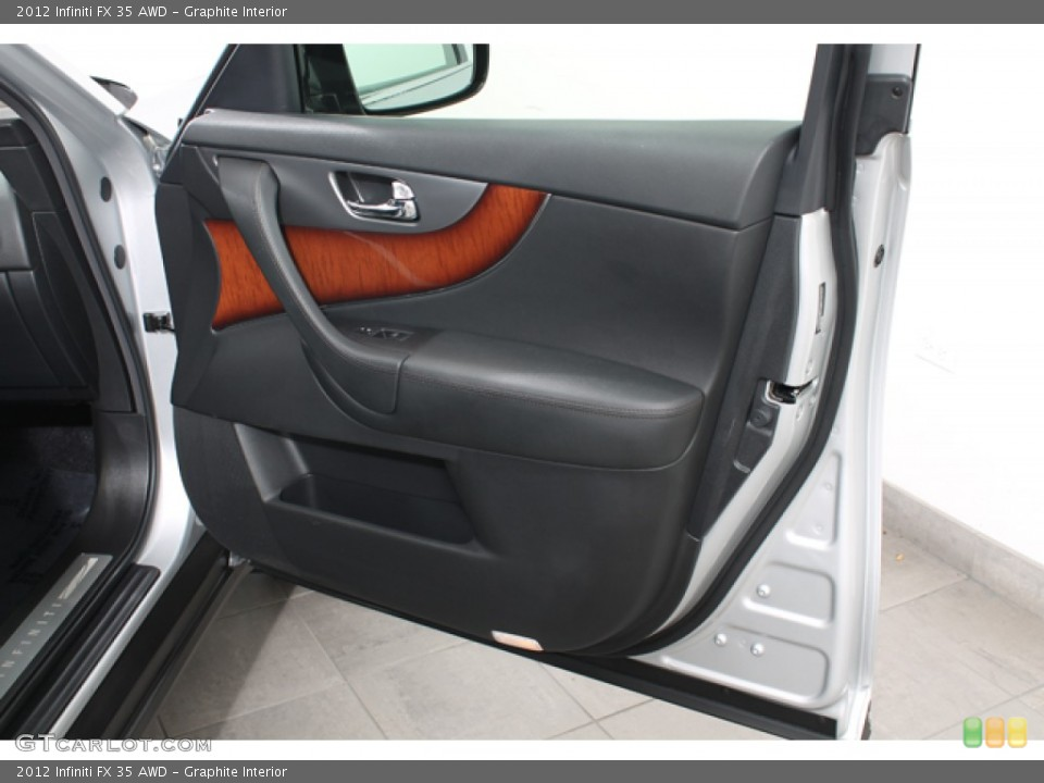 Graphite Interior Door Panel for the 2012 Infiniti FX 35 AWD #68434574