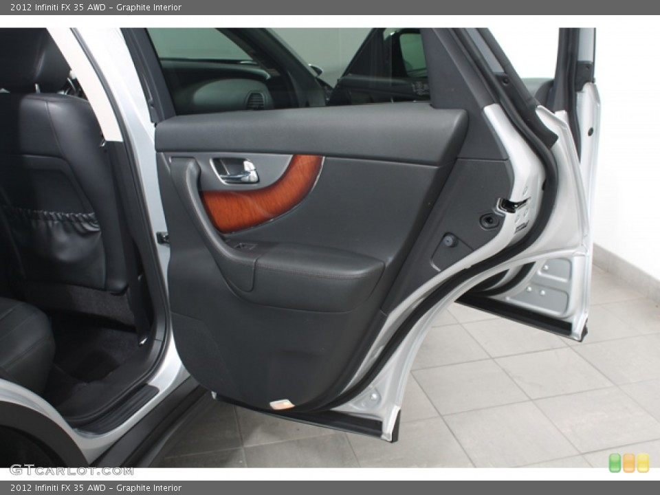Graphite Interior Door Panel for the 2012 Infiniti FX 35 AWD #68434583