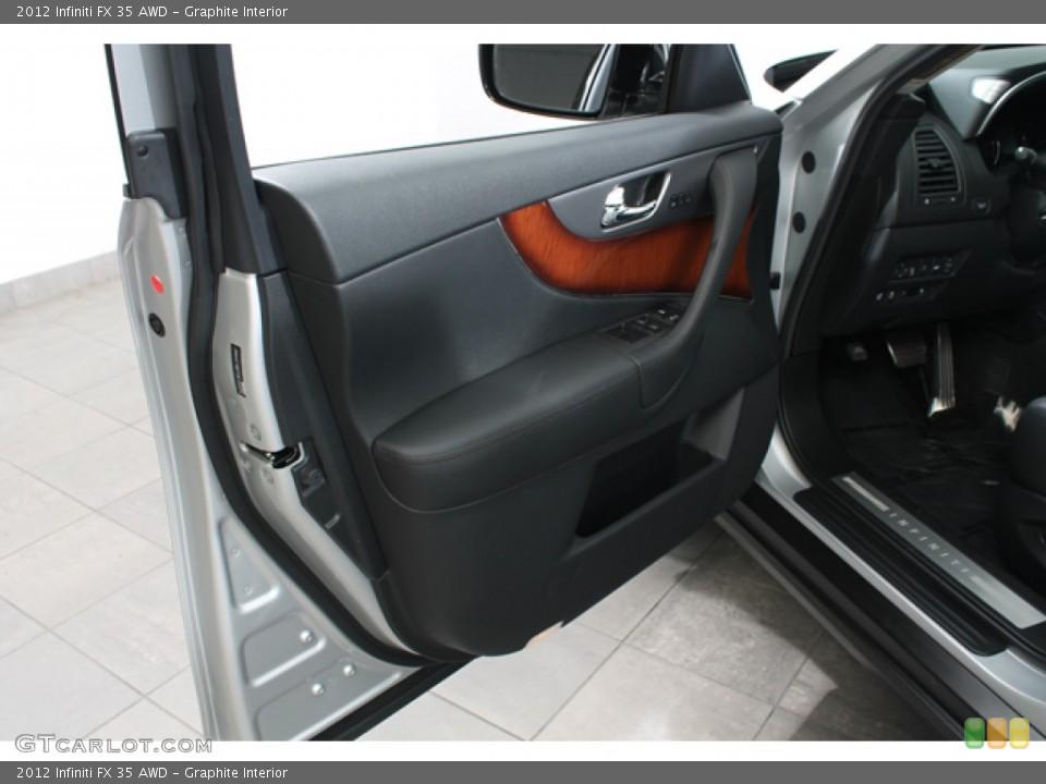 Graphite Interior Door Panel for the 2012 Infiniti FX 35 AWD #68434601