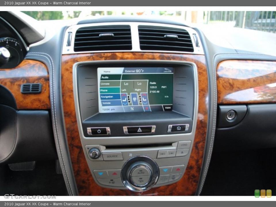 Warm Charcoal Interior Controls for the 2010 Jaguar XK XK Coupe #68588657