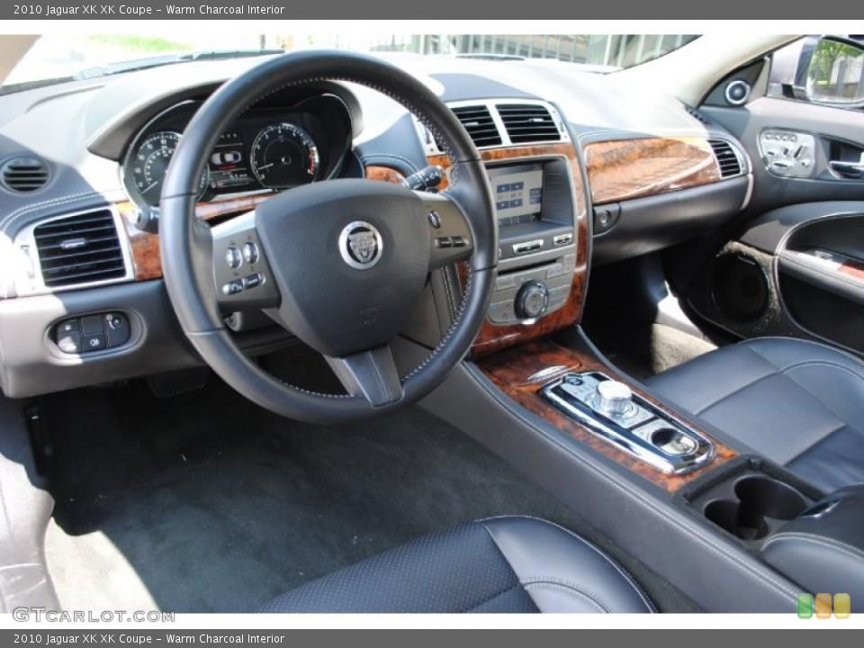 Warm Charcoal Interior Prime Interior for the 2010 Jaguar XK XK Coupe #68588666