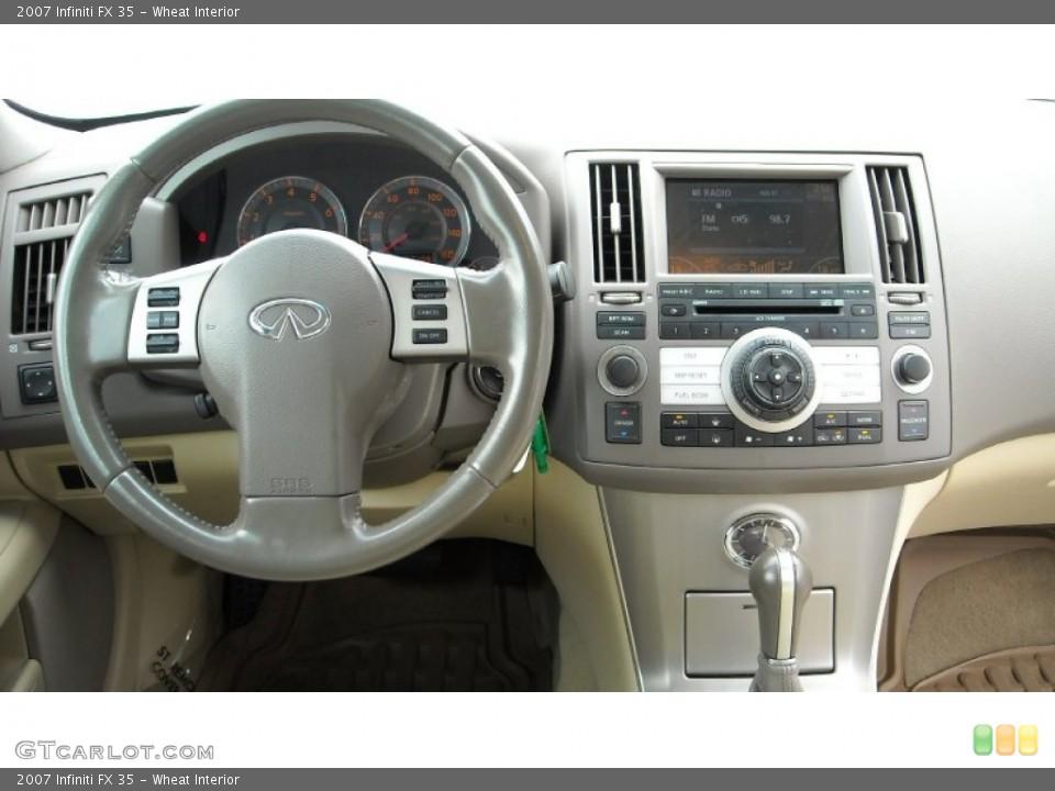 Wheat Interior Dashboard for the 2007 Infiniti FX 35 #68659426