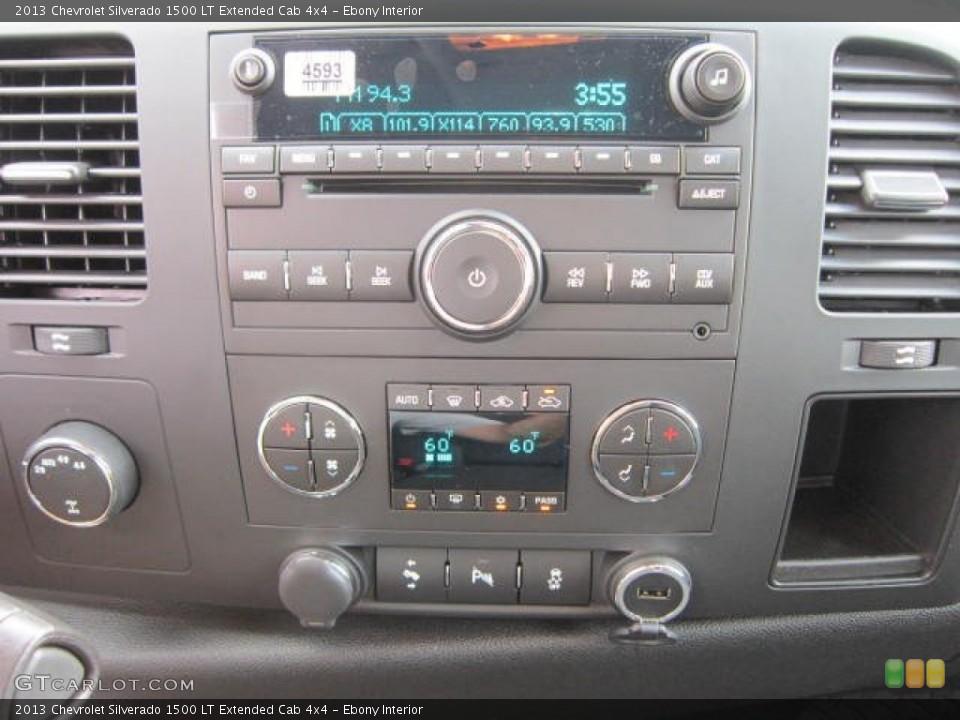 Ebony Interior Controls for the 2013 Chevrolet Silverado 1500 LT Extended Cab 4x4 #69043587