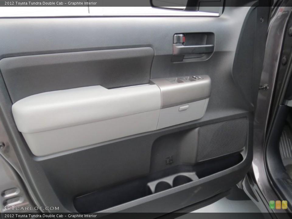Graphite Interior Door Panel for the 2012 Toyota Tundra Double Cab #69084959