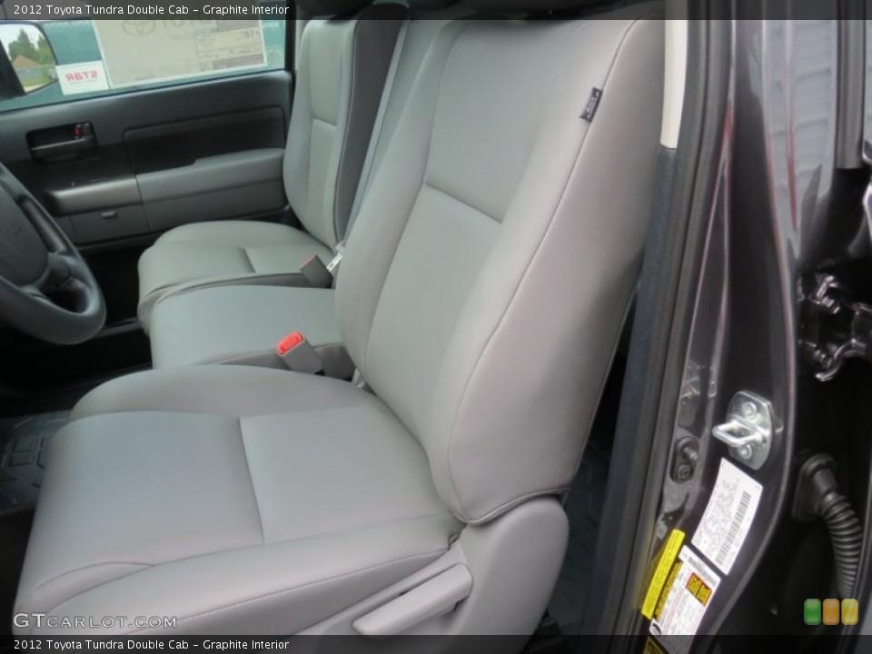 Graphite Interior Photo for the 2012 Toyota Tundra Double Cab #69084971