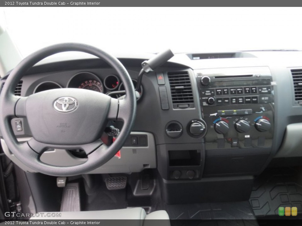 Graphite Interior Dashboard for the 2012 Toyota Tundra Double Cab #69084983