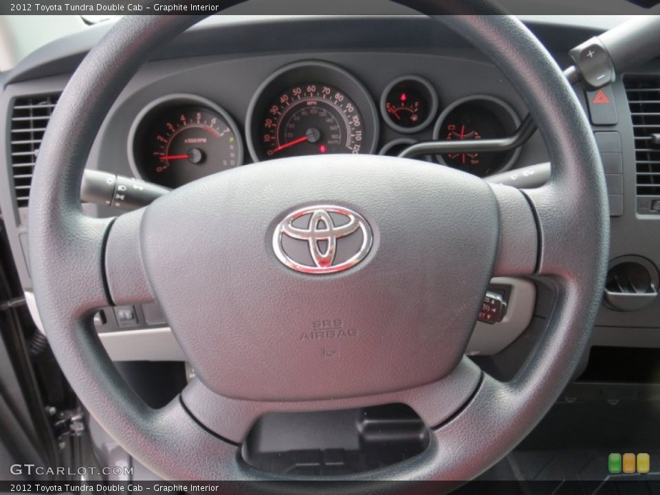 Graphite Interior Steering Wheel for the 2012 Toyota Tundra Double Cab #69085007