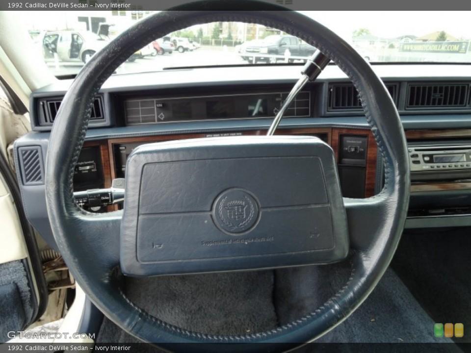 1992 Cadillac DeVille Interior