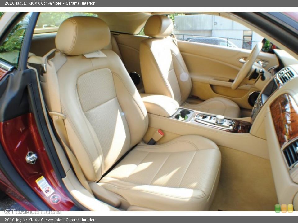Caramel Interior Front Seat for the 2010 Jaguar XK XK Convertible #69234313