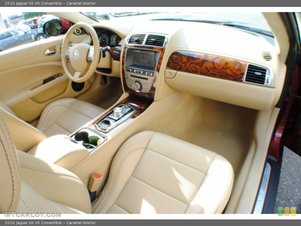 Caramel Interior Dashboard for the 2010 Jaguar XK XK Convertible #69234324