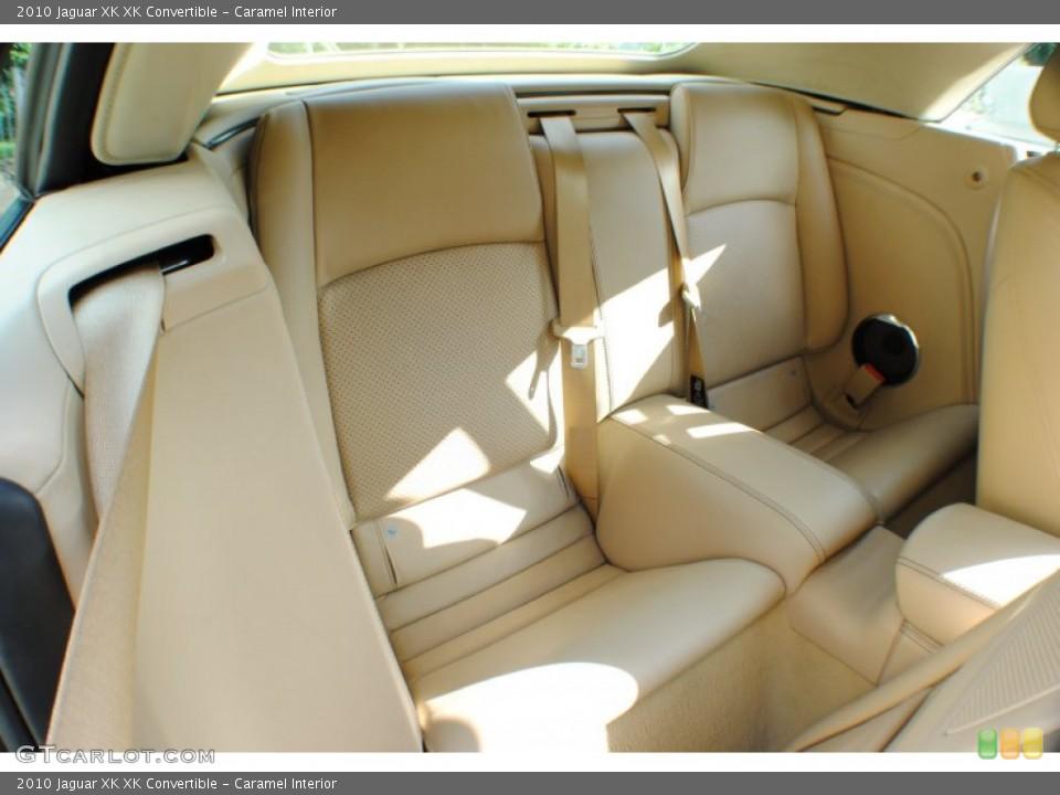 Caramel Interior Rear Seat for the 2010 Jaguar XK XK Convertible #69234333