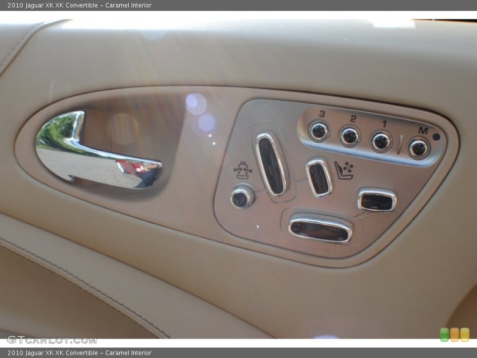 Caramel Interior Controls for the 2010 Jaguar XK XK Convertible #69234345