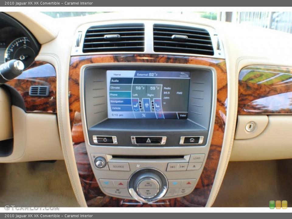 Caramel Interior Controls for the 2010 Jaguar XK XK Convertible #69234363