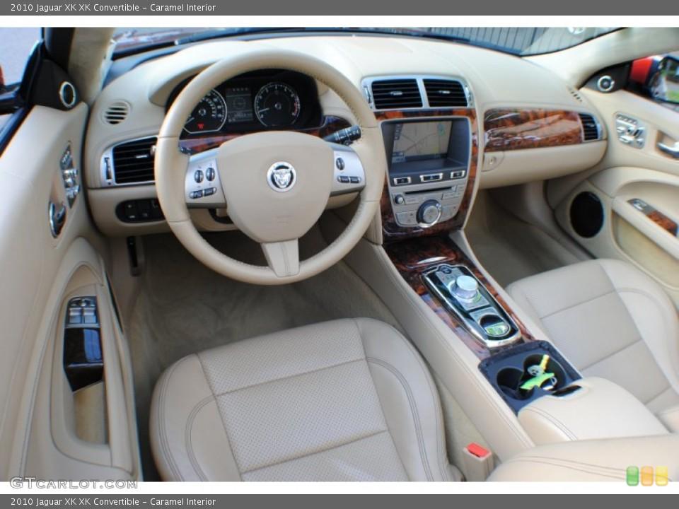 Caramel Interior Prime Interior for the 2010 Jaguar XK XK Convertible #69234403