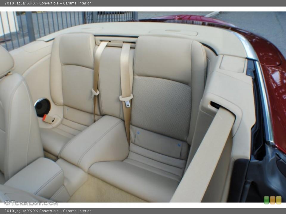 Caramel Interior Rear Seat for the 2010 Jaguar XK XK Convertible #69234411