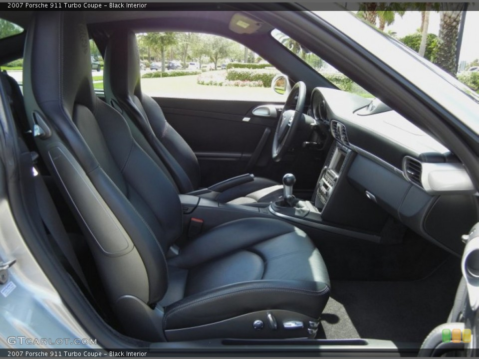 Black Interior Photo for the 2007 Porsche 911 Turbo Coupe #69238533