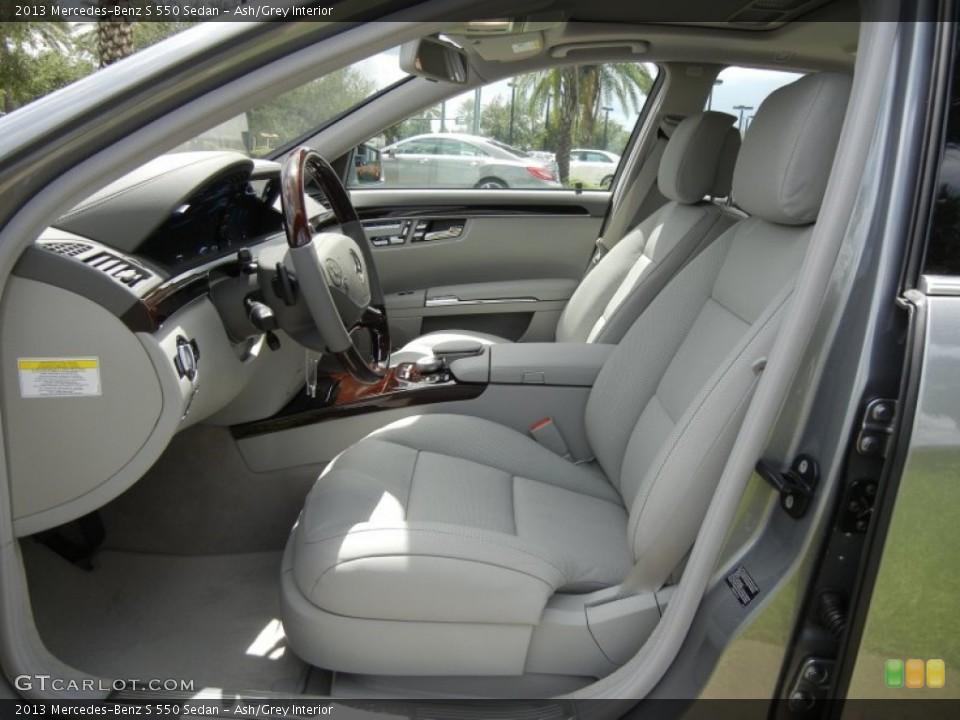 Ash/Grey 2013 Mercedes-Benz S Interiors
