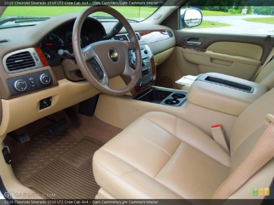 Dark Cashmere/Light Cashmere 2010 Chevrolet Silverado 1500 Interiors
