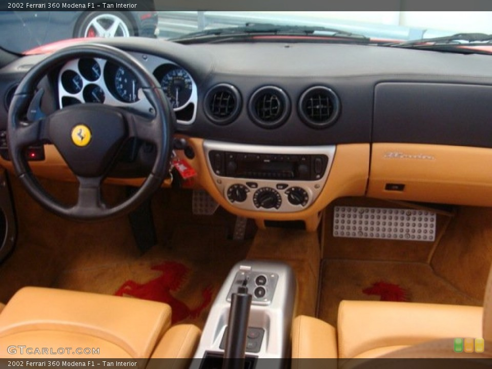 Tan Interior Dashboard For The 2002 Ferrari 360 Modena F1 69489436 Gtcarlot Com