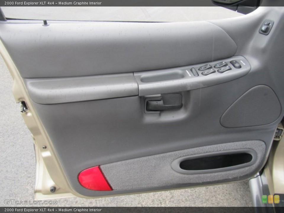 Medium Graphite Interior Door Panel for the 2000 Ford Explorer XLT 4x4 #69535635