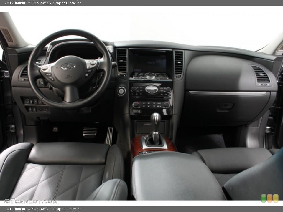 Graphite Interior Dashboard for the 2012 Infiniti FX 50 S AWD #69683838
