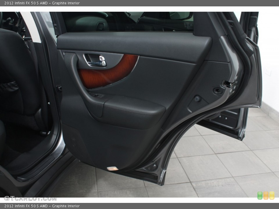 Graphite Interior Door Panel for the 2012 Infiniti FX 50 S AWD #69683913