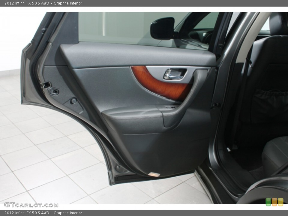 Graphite Interior Door Panel for the 2012 Infiniti FX 50 S AWD #69683922