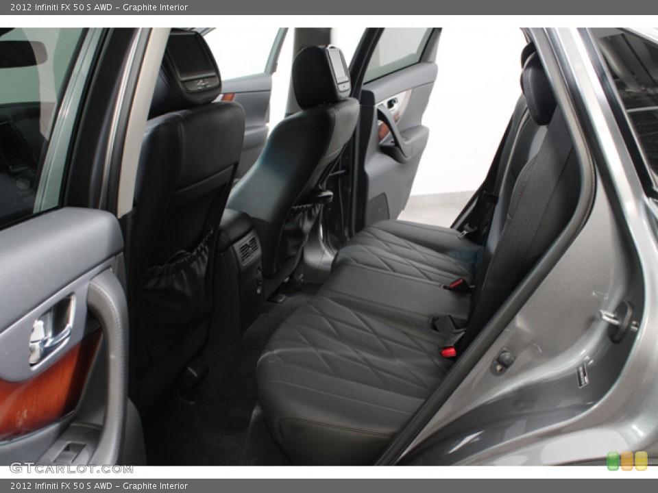 Graphite Interior Photo for the 2012 Infiniti FX 50 S AWD #69683964