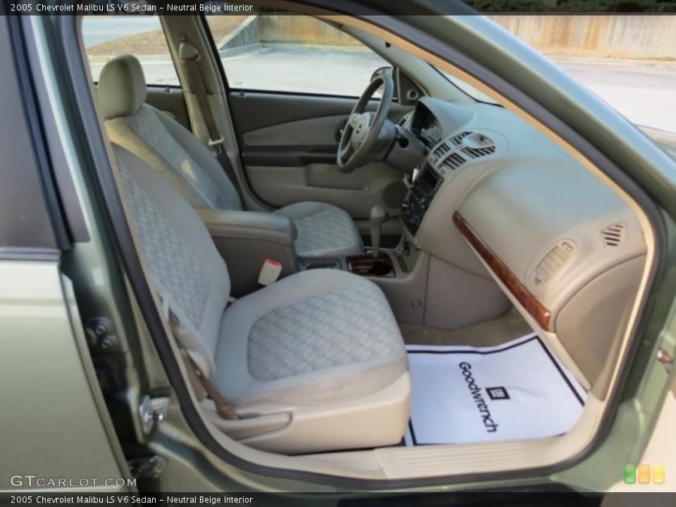 Neutral Beige 2005 Chevrolet Malibu Interiors