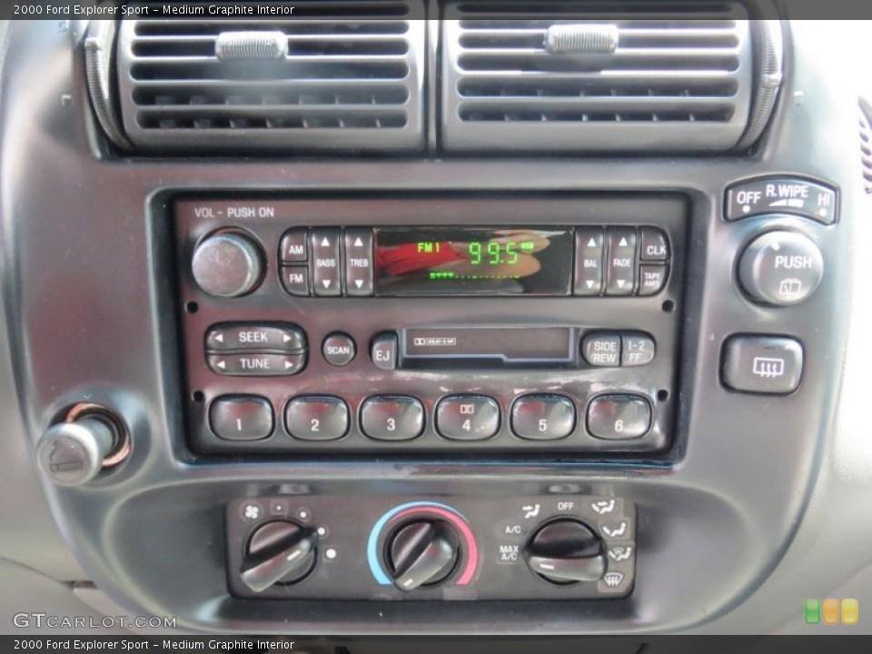 Medium Graphite Interior Controls for the 2000 Ford Explorer Sport #69697014