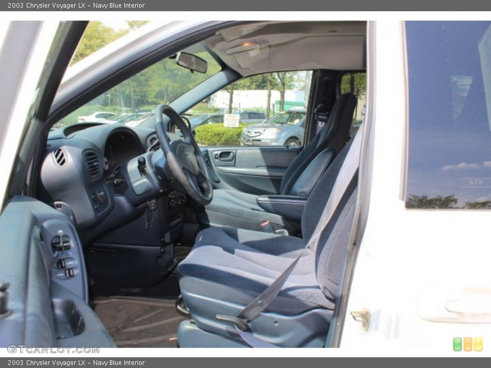 Navy Blue Interior Photo for the 2003 Chrysler Voyager LX #69755368