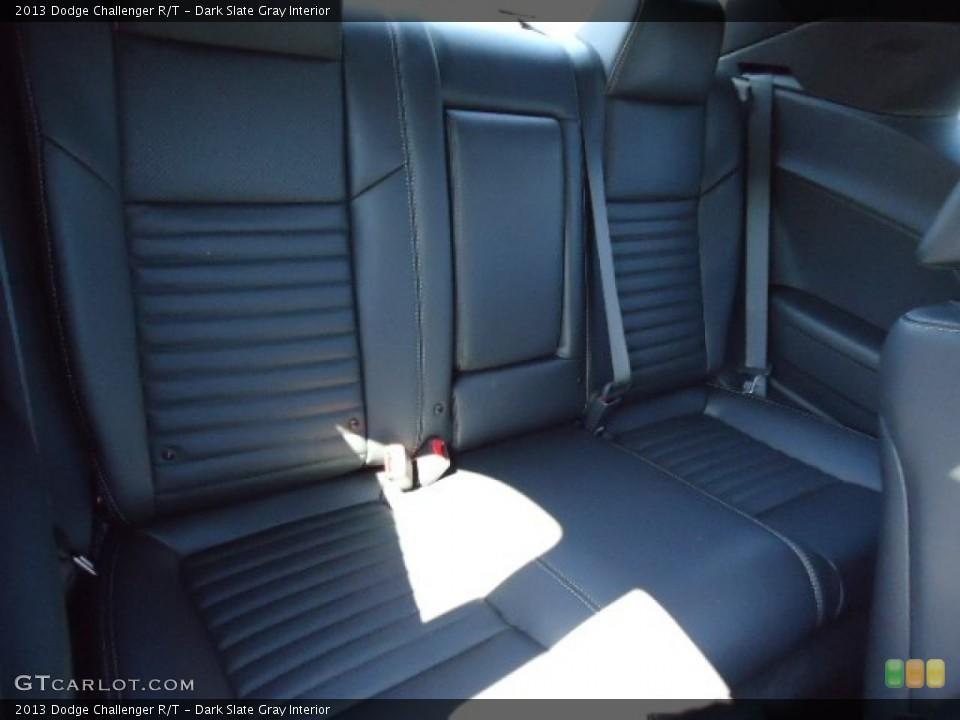 Dark Slate Gray Interior Rear Seat for the 2013 Dodge Challenger R/T #69765322