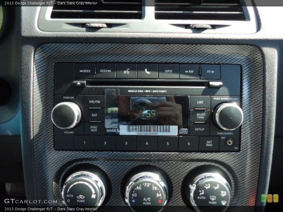 Dark Slate Gray Interior Audio System for the 2013 Dodge Challenger R/T #69765398