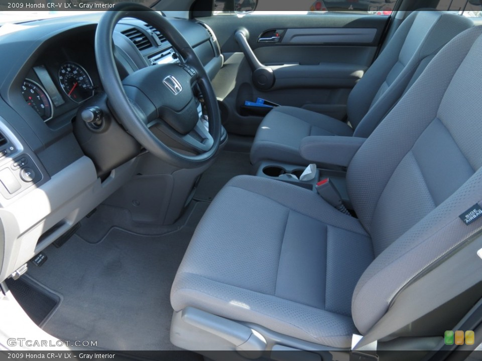 Gray Interior Photo for the 2009 Honda CR-V LX #69783868