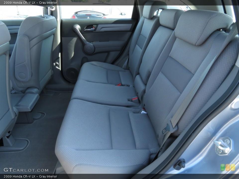 Gray Interior Photo for the 2009 Honda CR-V LX #69783877