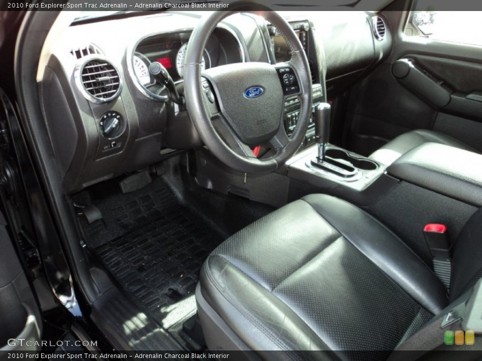 Adrenalin Charcoal Black Interior Prime Interior for the 2010 Ford