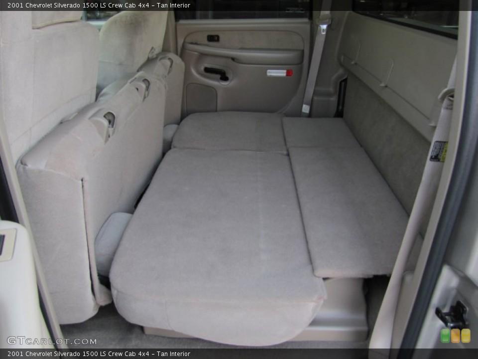Tan 2001 Chevrolet Silverado 1500 Interiors