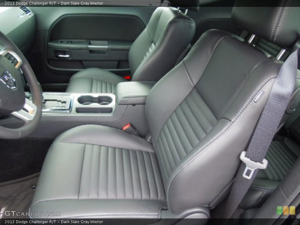Dark Slate Gray Interior Photo for the 2013 Dodge Challenger R/T #70075670