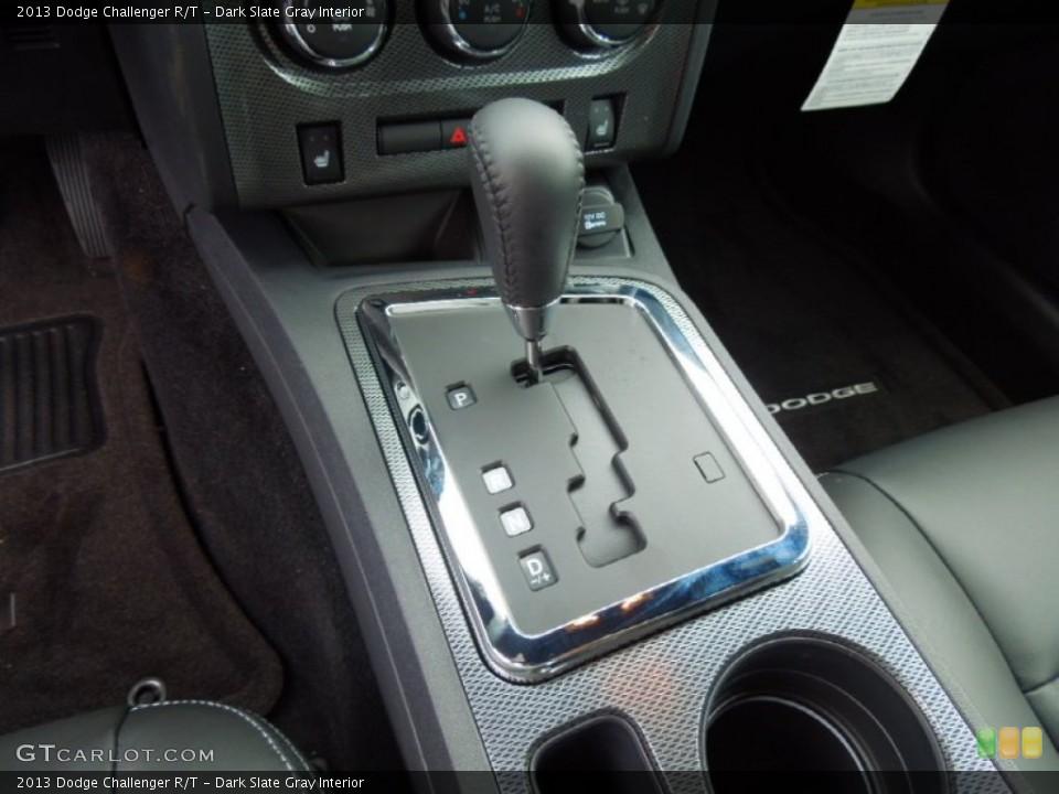 Dark Slate Gray Interior Transmission for the 2013 Dodge Challenger R/T #70075685