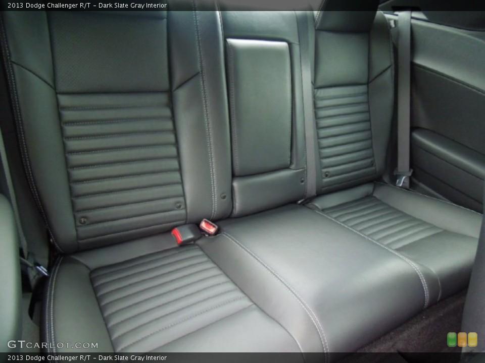 Dark Slate Gray Interior Rear Seat for the 2013 Dodge Challenger R/T #70075725