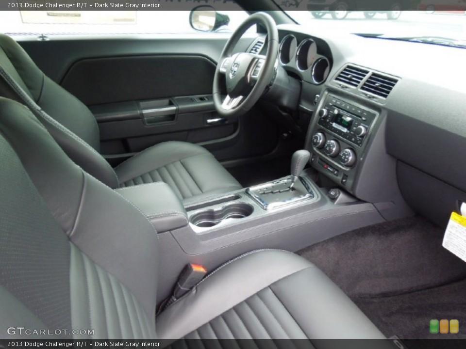 Dark Slate Gray Interior Photo for the 2013 Dodge Challenger R/T #70075737