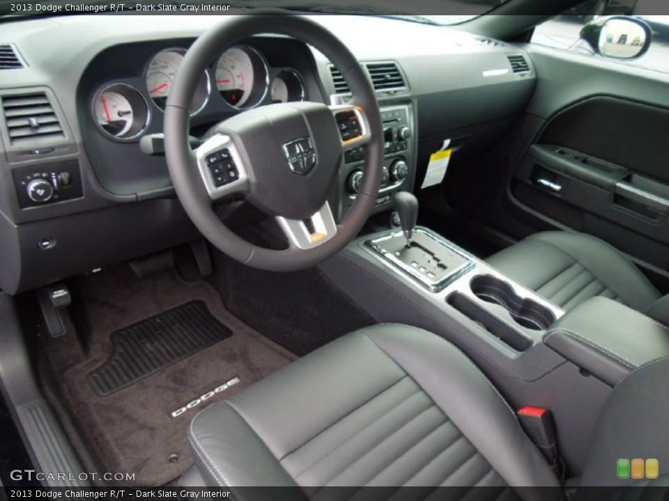 Dark Slate Gray Interior Prime Interior for the 2013 Dodge Challenger R/T #70075760
