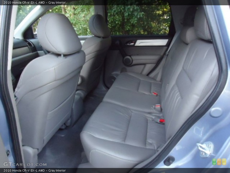 Gray Interior Rear Seat for the 2010 Honda CR-V EX-L AWD #70121865