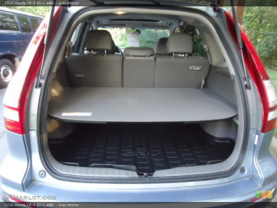 Gray Interior Trunk for the 2010 Honda CR-V EX-L AWD #70121874