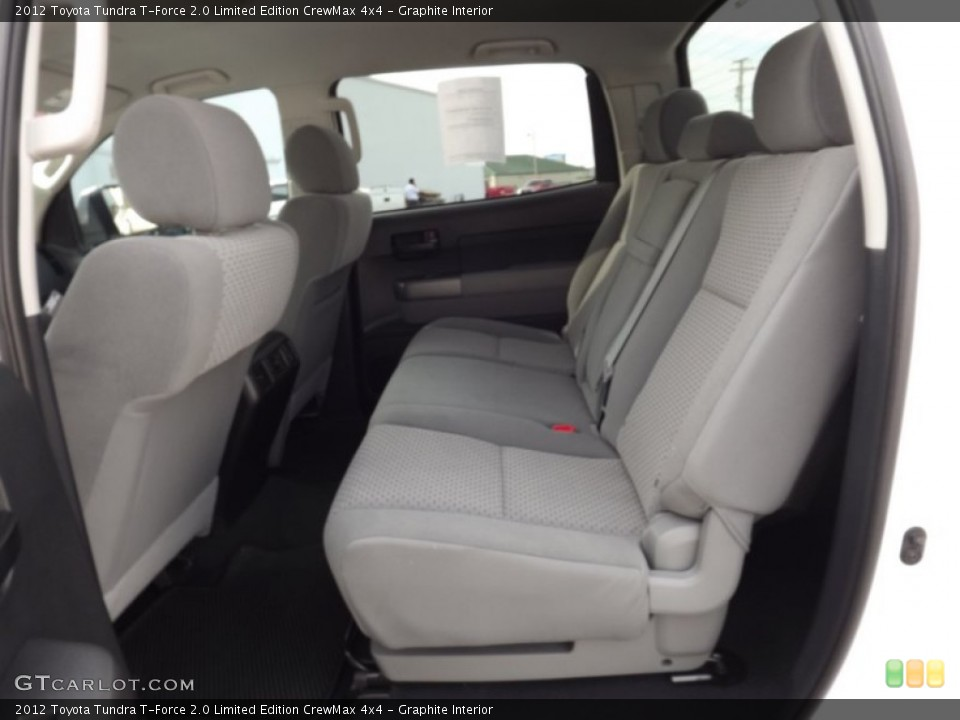 Graphite Interior Photo for the 2012 Toyota Tundra T-Force 2.0 Limited Edition CrewMax 4x4 #70149869