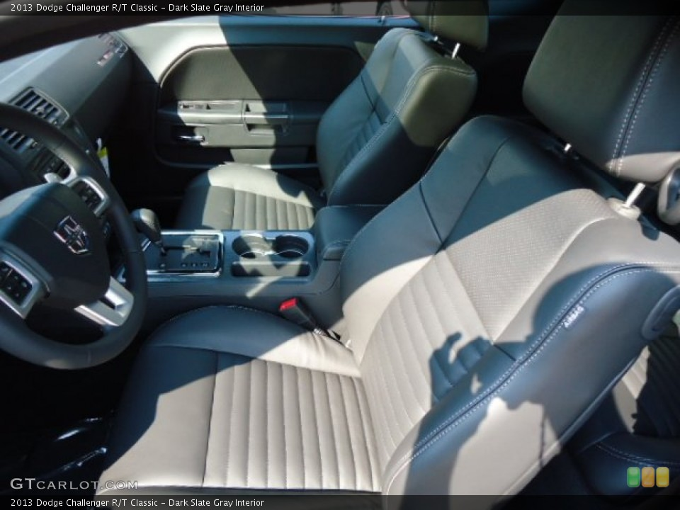 Dark Slate Gray Interior Photo for the 2013 Dodge Challenger R/T Classic #70284250