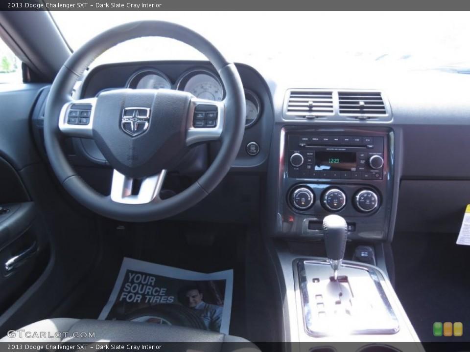 Dark Slate Gray Interior Dashboard for the 2013 Dodge Challenger SXT #70481888