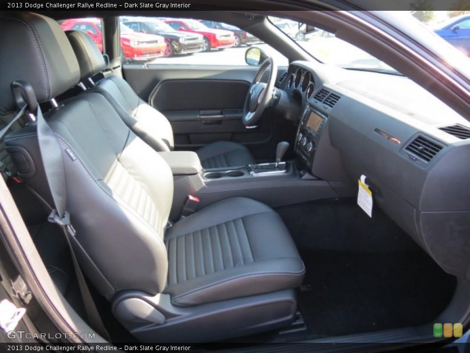 Dark Slate Gray Interior Photo for the 2013 Dodge Challenger Rallye Redline #70483241