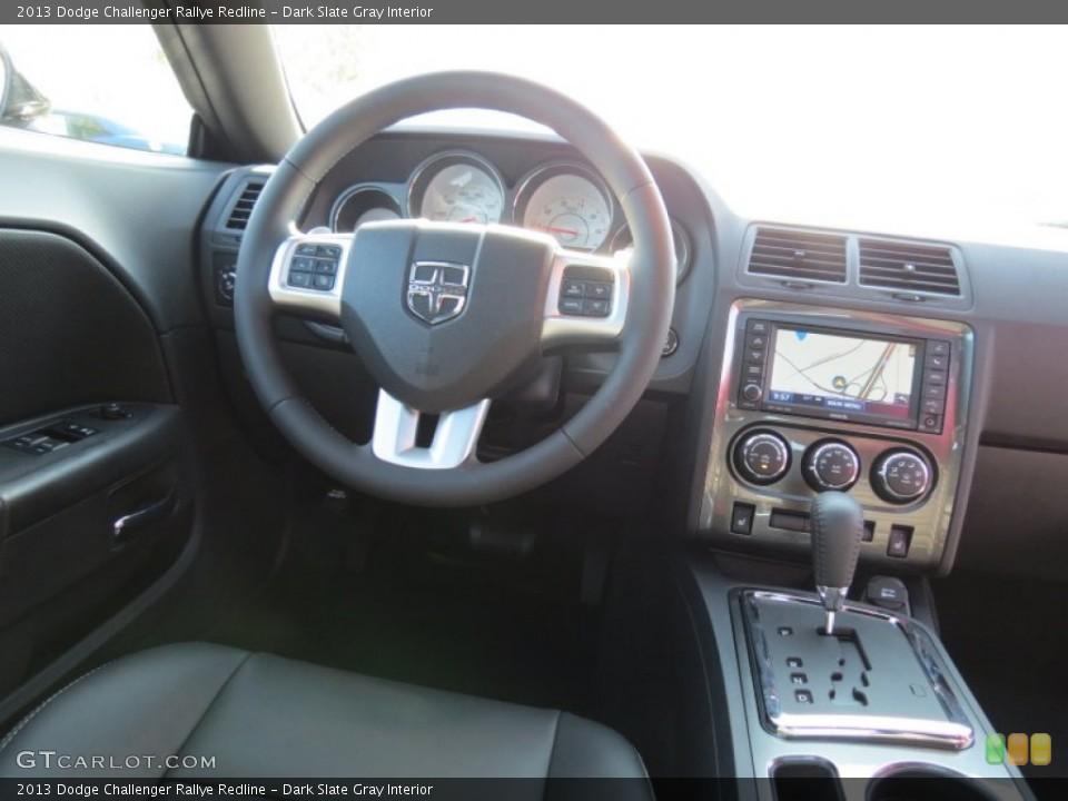 Dark Slate Gray Interior Dashboard for the 2013 Dodge Challenger Rallye Redline #70483250