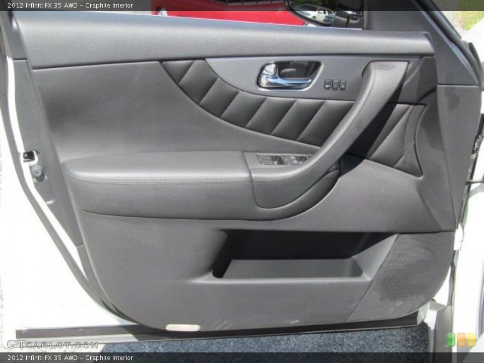 Graphite Interior Door Panel for the 2012 Infiniti FX 35 AWD #70683940